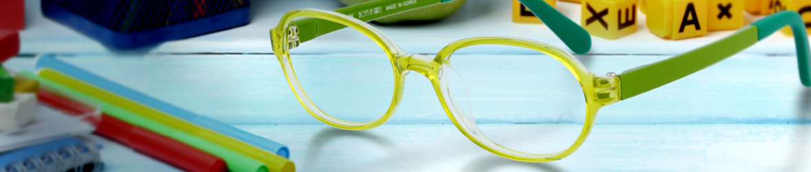 Glassesgallery - Kids eyewear banner