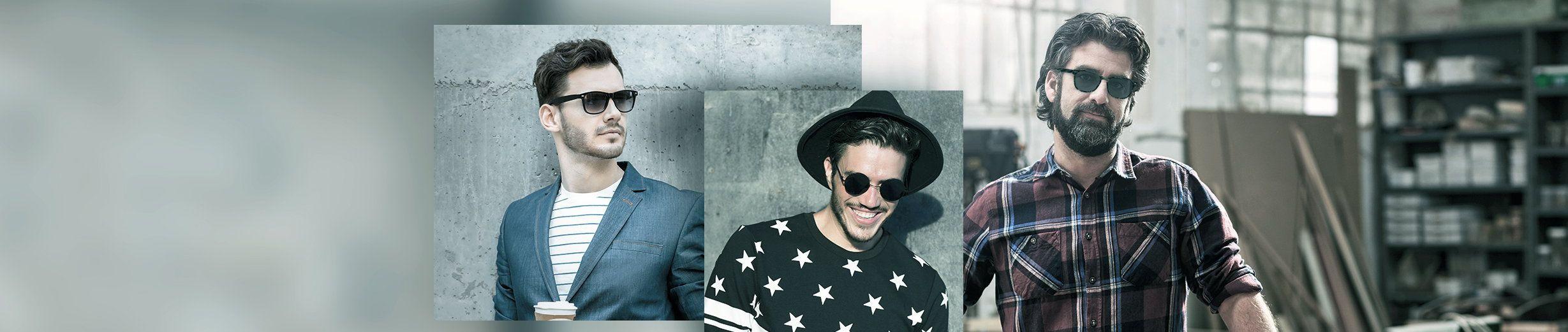 Glassesgallery - Men sunglasses banner