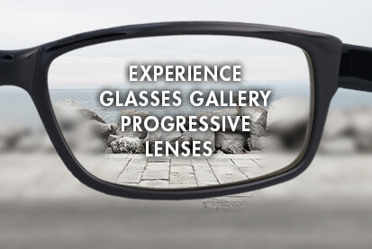 Complete Progressive Glasses at $95